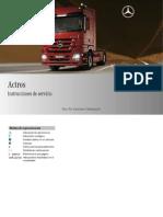 Manual de Operacion Actros 3