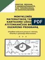 Mokyklines Matematikos Teminio Kartojimo Uzduotys