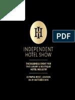 Independent Hotel Show Sales Brochure