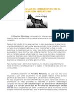TARAS OCULARES CONGÉNITAS EN EL PINSCHER MINIATURA