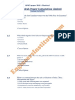 UPPCL 2013 Paper