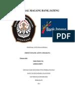 Proposal Magang Bank Jateng