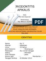 Periodontitis-Apikalis