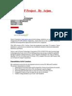 ABAP Project by Arjun
