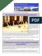 Boletín del Grupo Socialista del Cabildo de Tenerife 118. 16 - 22 de marzo 2015