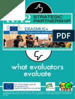 what evaluators evaluate