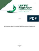 Modelo de Relatório de Estágio I