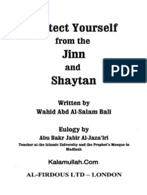 How to Protect Yourself From Jinn and Shaytaan | Sahabah | Jinn