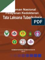 Pedoman Nasional Pelayanan Kedokteran Tatalaksana Tuberkulosis