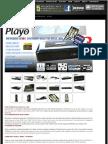 Media Player 4Geek Playo HDMP-100MKV 1080p HDMI USB LAN