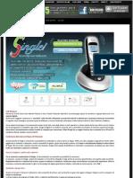 Telefono Voip Wireless per Skype 4Geek Skyme Single Usb