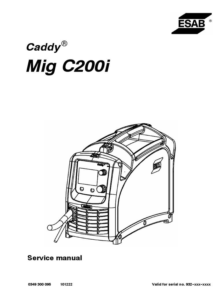 Mig C200i: Caddy