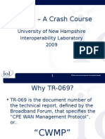TR-069 Crash Course