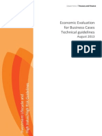 Economic Evaluation Technical Guide V102 August 2013
