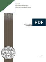 Vezet__i Onismeret - Szakanyag
