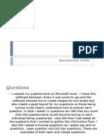 Presentation1survey Results Media