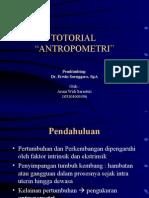 Tutorial Antropometri