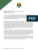 Position Paper sample