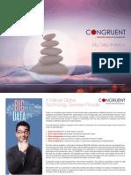 Congruent Solutions Big Data Analytics