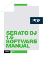 Serato DJ 1.6 Software Manual - English