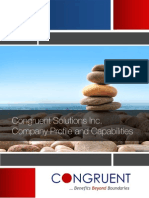 Congruent Solutions - Benefits Beyond Boundaries