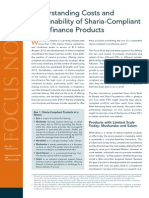 Costs and Sustainability of Sharia Compliant Microfinance Products