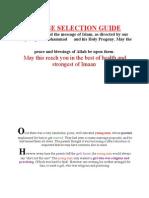 Spouse Selection Guide