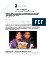 Liuyang Case Study Report 2014