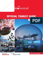 Official Tourist Guide - Montreal