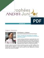 Trophées ANDRH JuniOr 2015
