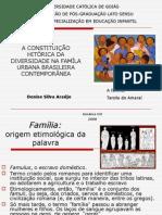 A Constituição Hitórica Da Diversidade Na Famíla Urbana Brasileira Contemporânea