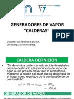 Generadores de Vapor-Calderas