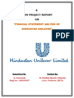 Terrm Project on Hindustan Unilever