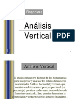 Analisis Vertical y Horizantal