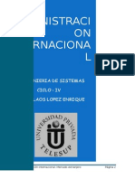 Monografia Administracion Internacional Mercado Extranjero