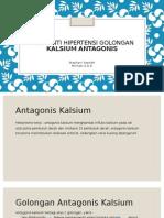Obat Anti Hipertensi Golongan Kalsium Antagonis