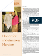 Honor for a Vietnamese Heroine