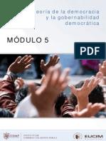 Mod v Teoria Democracia Gobernabilidad Democratica