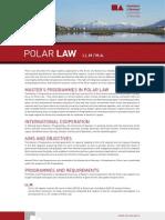 Polar Law at UoAkureyri Flyer FYUkY