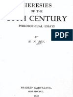 Heresies of the 20th Century by M.N.roy