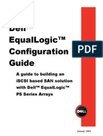 Dell EqualLogic Configuration Guide