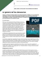Página_12 __ El País __ El Género de Las Denuncias