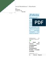 Herencia Mendeliana I