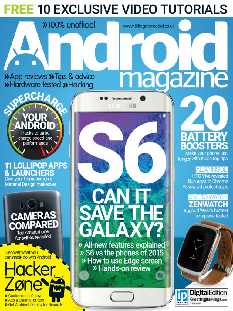 Android magazine uk issue 49 information appliances mobile android magazine uk issue 49 information appliances mobile computers fandeluxe Gallery