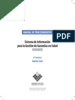 Manual de Procedimiento Marzo 2009