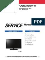 Samsung Fpt5884x-Xaa Chasis f35a Plasma Tv Sm