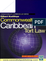 Commonwealth Caribbean Tort Law 2ed
