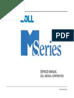 Desfibrilador Zoll M - Manual de servicio