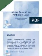 Seminário Cluster Beowulf