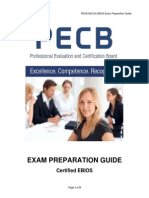 Ebios Exam Preparation Guide